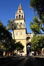 Andaluské město Cordóba s mešitou Mezquita