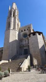 Klášterní kostel Sant Feliu, Girona ve Španělsku