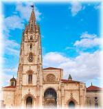 Španělské město Oviedo a katedrála Santa Maria