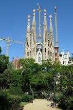 Barcelonský chrám Sagrada Família