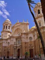 Španělské město Cádiz - katedrála Santa Cruz