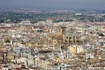 Španělské město Granada a katedrála