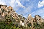 Vesničk Guadalest na Costa Blance